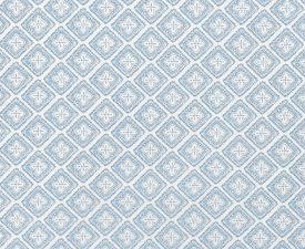 AZZAR LIGHT BLUE ON WHITE