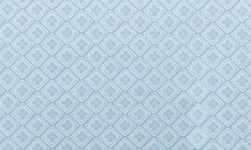 AZZAR White on Light BLUE- MAIN