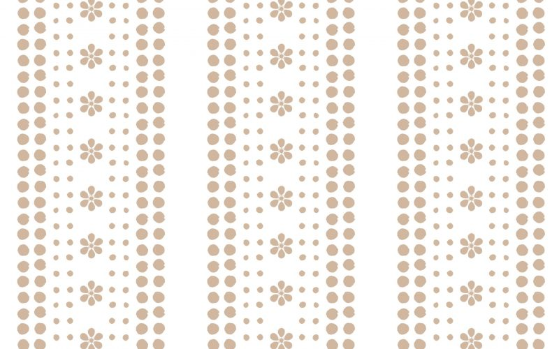 Isabela Stripe-wallpaper- Latte 2